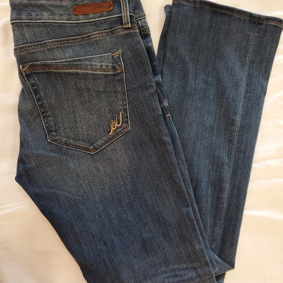 Express Denim - Express Barely Boot Low Rise Jean's 10R